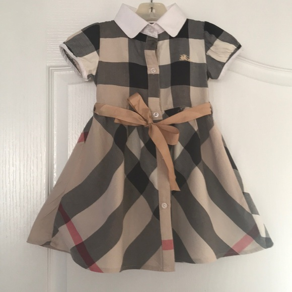 67ce3c5c3be5 Burberry Dresses | Look Alike Toddler Dress | Poshmark